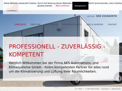 AKS Automations- und Klimasysteme GmbH
