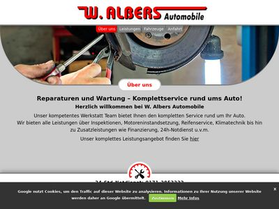 Albers W. Automobile Inh. Wilhelm Albers