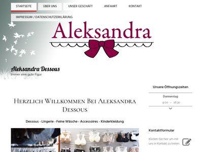 Aleksandra Dessous