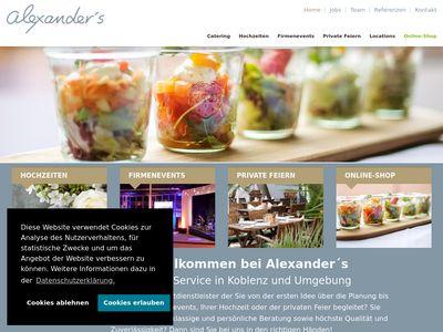 Alexander's Catering