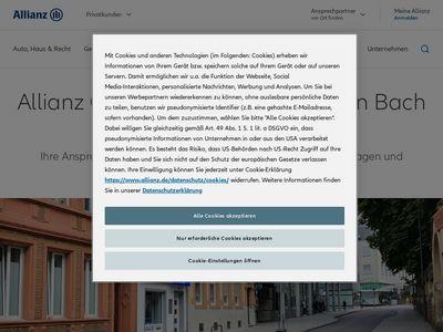 Allianz Generalvertretung Christian Bach in Trier