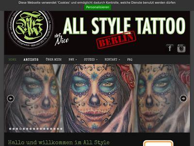 All Style Tattoo Berlin