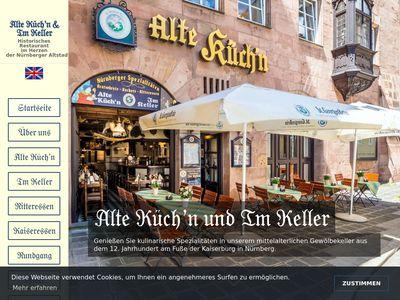 Alte Küch'n / Im Keller