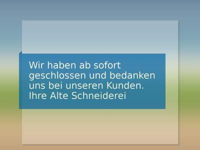 Alte Schneiderei