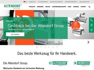 Altendorf Formatkreissägen