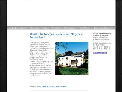 Alten- u. Pflegeheim Fahrbachtal GmbH