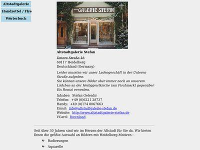 Altstadt Galerie Stefan