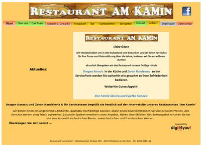 "Restaurant ""Am Kamin"