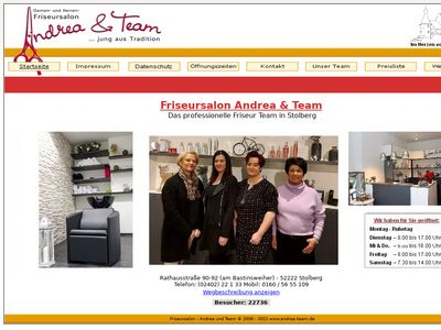 Friseursalon Andrea + Team Stolberg