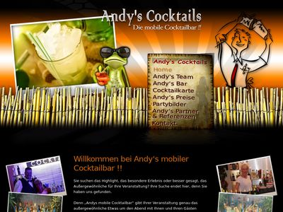 Andys mobile Cocktailbar