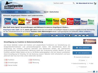 Angelspezi Dresden XXL