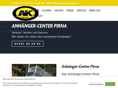 Anhänger-Center Pirna