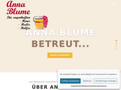 Anna Blume Haushaltsservice