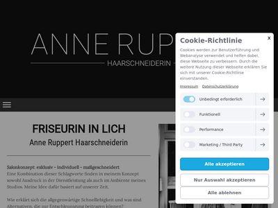 Anne Ruppert Haarschneiderin