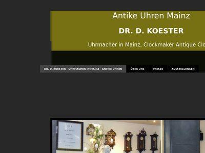 Dr. D. Koester