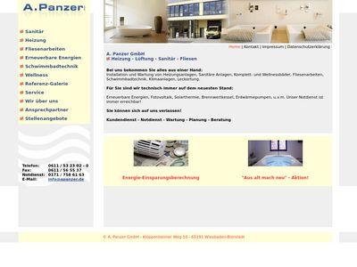 A. Panzer GmbH Heizung Lüftung Sanitär