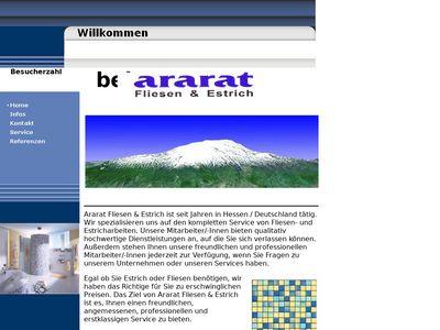 Ararat Fliesenverlegung e.K.