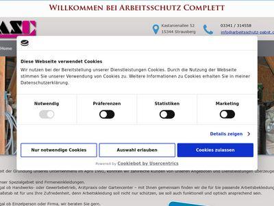 Arbeitsschutz Complett Inh. Birgit Pabst e.K.