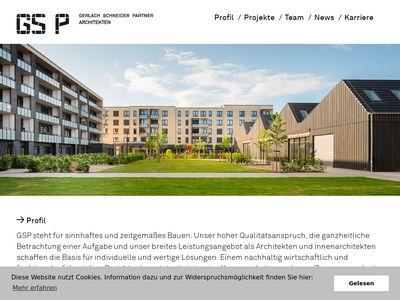 GS P Gerlach Schneider Partner Architekten
