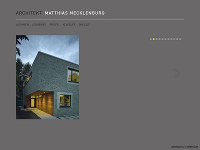 Architekturbüro Matthias Mecklenburg