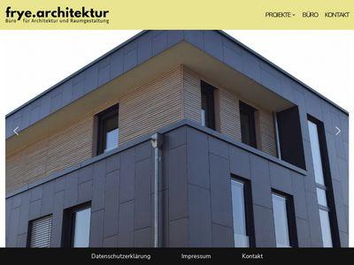 Frye M. Dipl.-Ing. Architekt