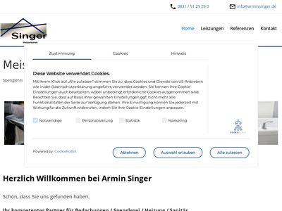 Armin Singer Sänitär und Heizung