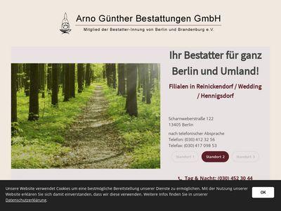 Arno Günther Bestattungen GmbH