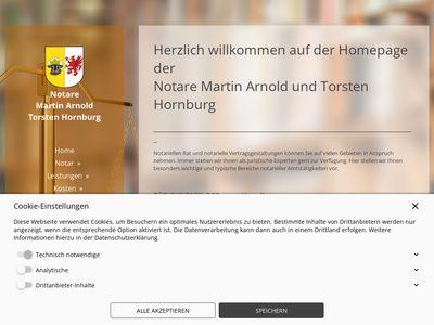 Notare Martin Arnold u. Torsten Hornburg