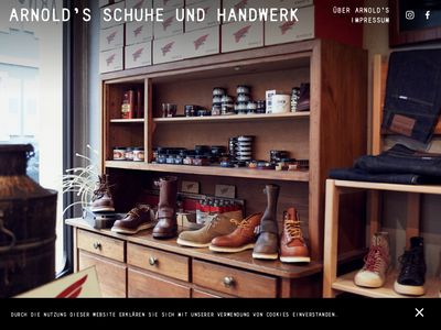 Marc Gay Arnolds Schuhe + Service