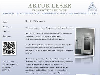 ARTUR LESER Elektrotechnik GmbH