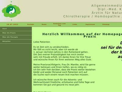 Dr.med. Rainer Wilke Praktischer Arzt