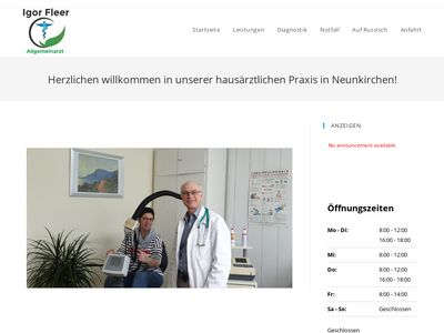 Igor Fleer Facharzt für Allgemeinmedizin