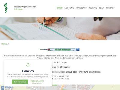 Lappe Rolf Facharzt für Allgemeinmedizin