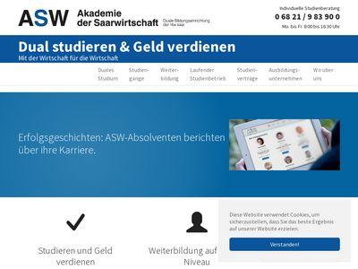 ASW - Berufsakademie Saarland e.V.