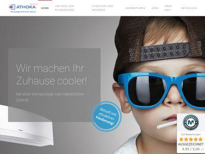 ATHOKA -Klimaanlagen-Profi für Ihr Zuhause
