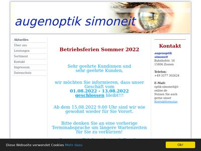 Augenoptik Simoneit