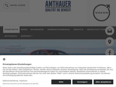 Auto Amthauer GmbH Volvo Vertragshändler