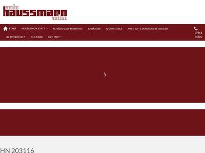 Auto Haussmann Inh. Hans Jürgen Thalheimer