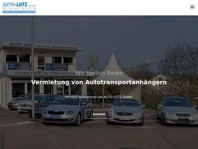 Lutz Peter, Winnender Gebrauchtwagenzentrale