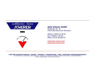 Auto Scherer GmbH