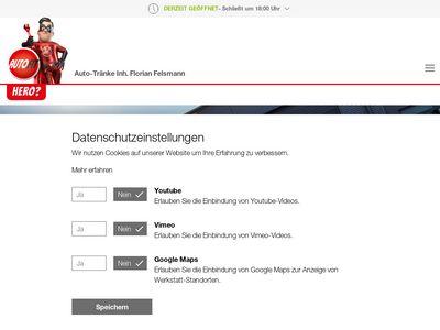 Firma Auto-Tränke