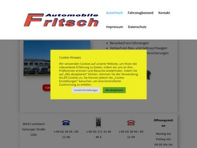 Fritsch Automobile