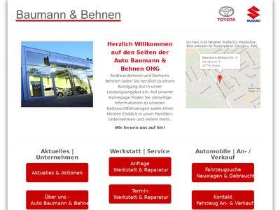 Auto Baumann & Behnen OHG