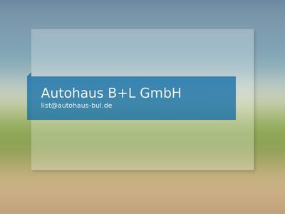 Autohaus B+L GmbH