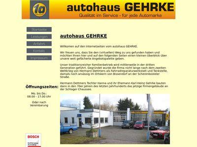 Gehrke Autohaus Autoreparatur