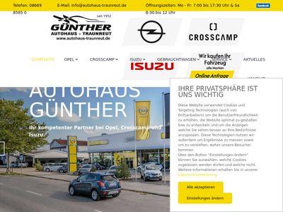 Opel Autohaus Günther Traunreut
