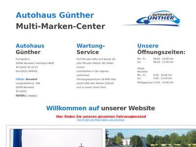 Autohaus Günther Filiale Neuwied