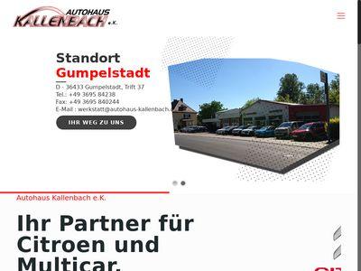 Autohaus Kallenbach e.K.