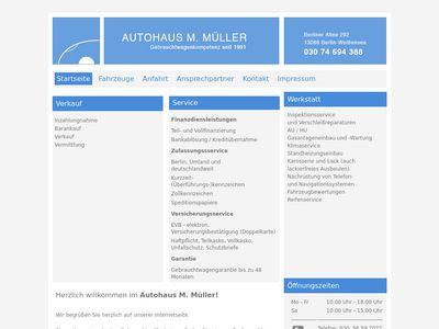 Autohaus M. Müller