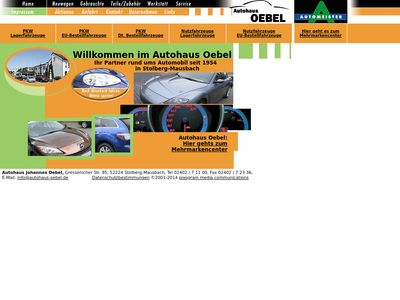 Autohaus Johannes Oebel